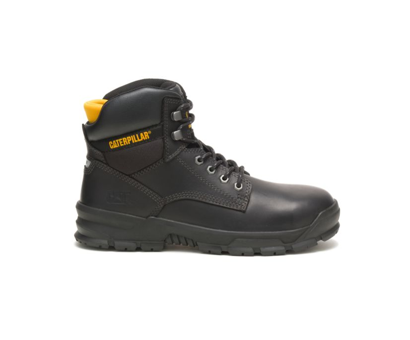 Mobilize Alloy Toe Work Boot, Black, dynamic