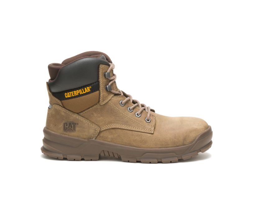 Mobilize Alloy Toe Work Boot, Fossil, dynamic