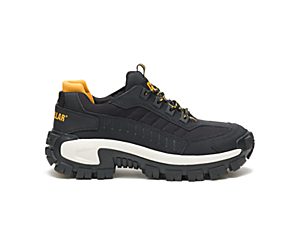 Invader Steel Toe Work Shoe, Black/Full Moon, dynamic