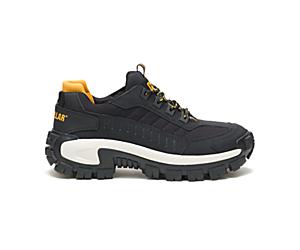 Invader Steel Toe Work Shoe, Black/Full Moon, dynamic