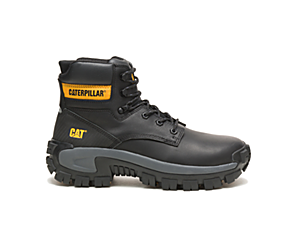 Invader Hi Steel Toe Work Boot, Black, dynamic
