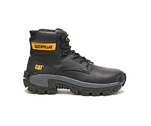 Invader Hi Steel Toe Work Boot, Black, dynamic