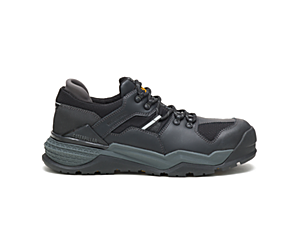 Provoke Lo Waterproof Alloy Toe Work Shoe, Black, dynamic