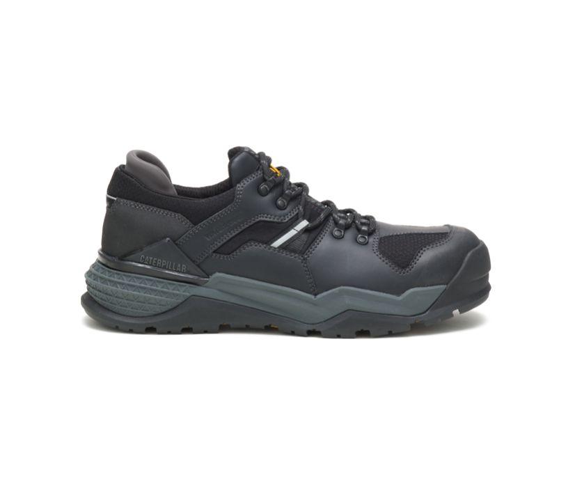 Provoke Lo Waterproof Alloy Toe Work Shoe, Black, dynamic