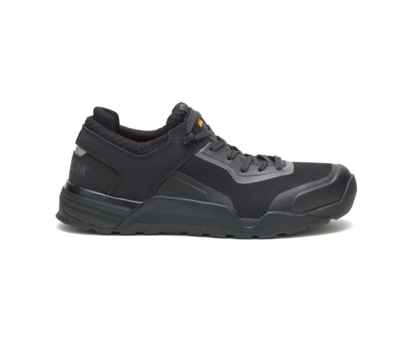 Bolt Alloy Toe Work Shoe, Black, dynamic