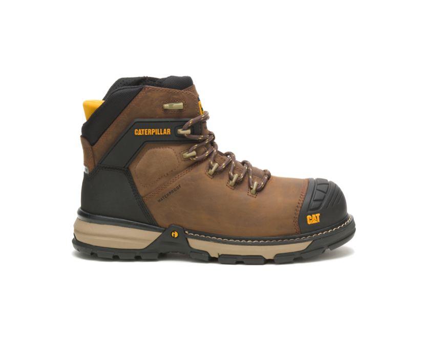 Excavator Superlite Waterproof Thinsulate™ Nano Toe Work Boot, Dark Brown, dynamic