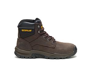 Upholder Waterproof Steel Toe Work Boot, Dark Chocolate, dynamic