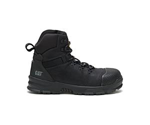 Accomplice X Waterproof Steel Toe Work Boot, Black, dynamic