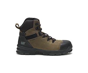 Accomplice X Waterproof Steel Toe Work Boot, Boulder, dynamic
