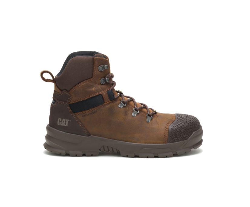 Accomplice X Waterproof Steel Toe Work Boot, Real Brown, dynamic