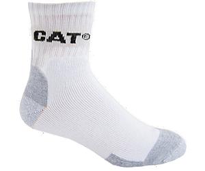 All Season Work Quarter Sock 3-Pack, WHITE, dynamic