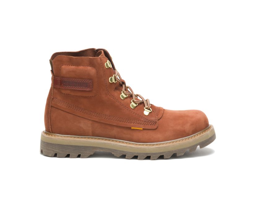 Rework Boot, Leather Brown, dynamic