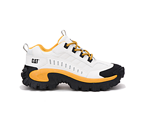 Intruder Shoe, White | Yellow, dynamic