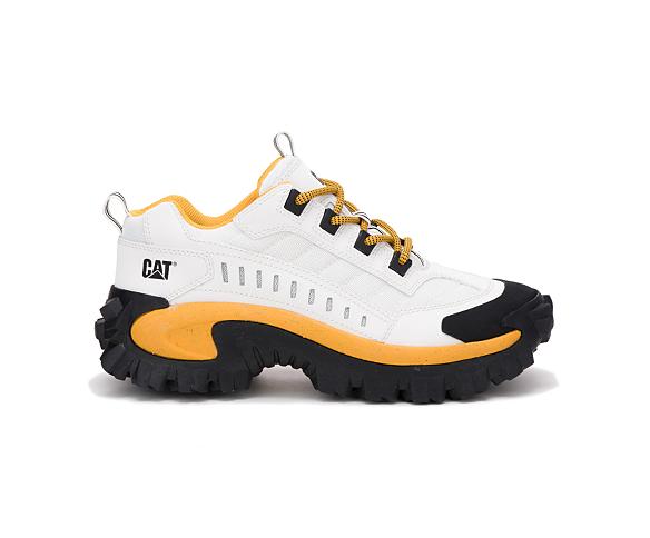 Intruder Shoe, White | Yellow, dynamic