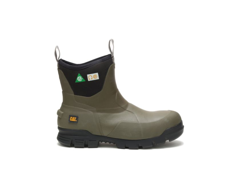"""Stormers 6"""" Steel Toe CSA Work Boot, Olive Night, dynamic"""