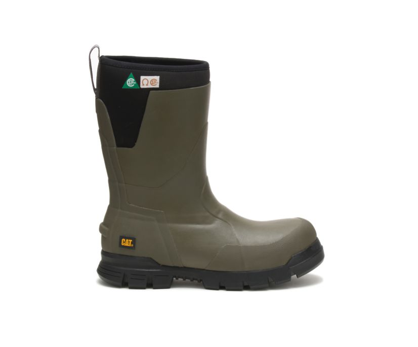 "Stormers 11"" Steel Toe CSA Work Boot, Olive Night, dynamic"