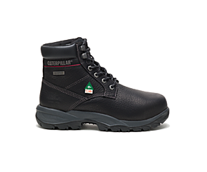 "Dryverse 6"" Waterproof Work Boot, Black, dynamic"