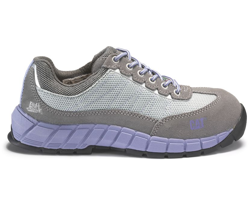 Exact CSA Steel Toe Work Shoe, Grey, dynamic