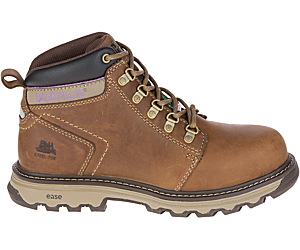 Ellie CSA NT Work Boot, Dark Beige, dynamic