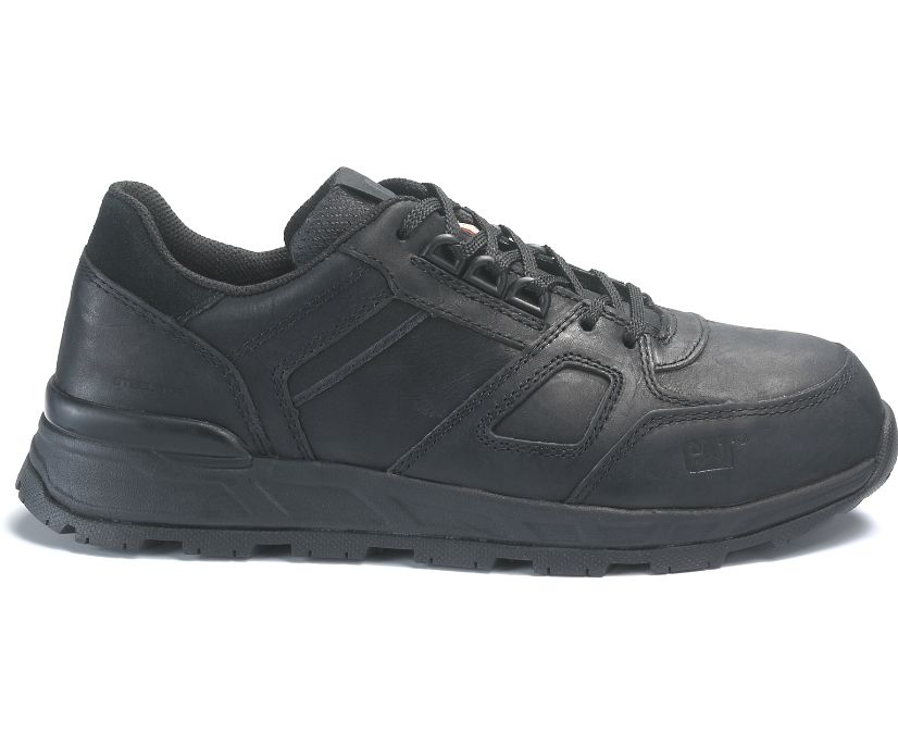Woodward ST CSA Work Shoe, Black, dynamic