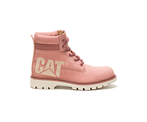 Lyric Bold Boot, Pink, dynamic