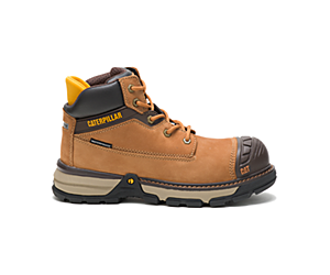Excavator Superlite Waterproof Nano Toe CSA Work Boot, Sudan Brown, dynamic