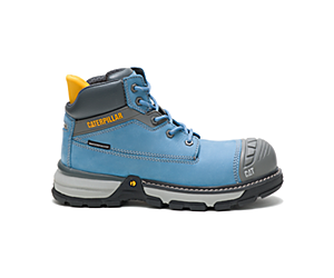 Excavator Superlite Waterproof Nano Toe CSA Work Boot, Blue Heaven, dynamic