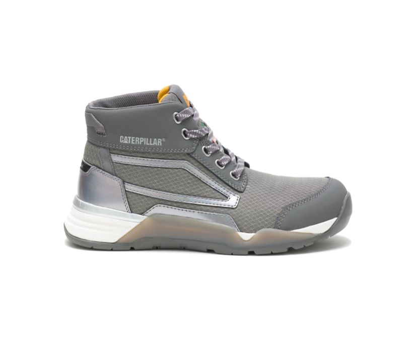 Sprint Mid Alloy Toe CSA Work Shoe, Medium Charcoal, dynamic