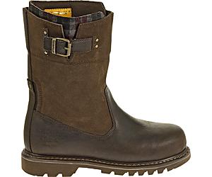 Jenny Steel Toe Work Boot, Bark, dynamic