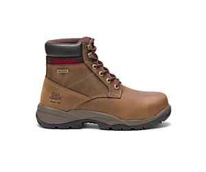 """Dryverse 6"""" Waterproof Steel Toe Work Boot, Dark Brown, dynamic"""