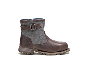 Jace Steel Toe Work Boot, Mulch, dynamic