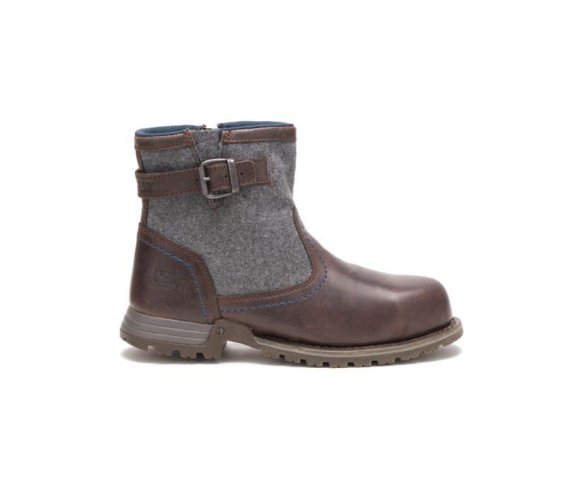 Jace Steel Toe Work Boot, Mulch, dynamic