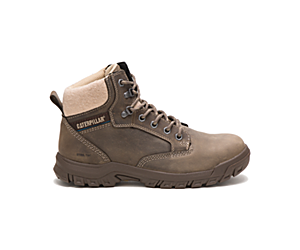 Tess Steel Toe Work Boot, Dark Gull Grey, dynamic