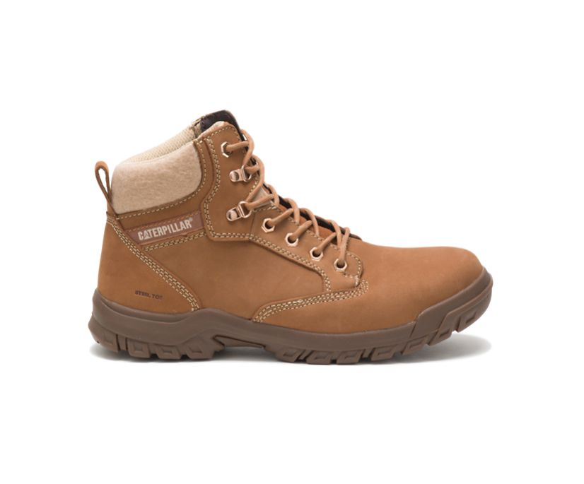 Tess Steel Toe Work Boot, Sundance, dynamic