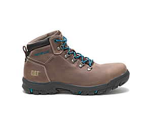 Mae Steel Toe Waterproof Work Boot, Bay Leaf, dynamic