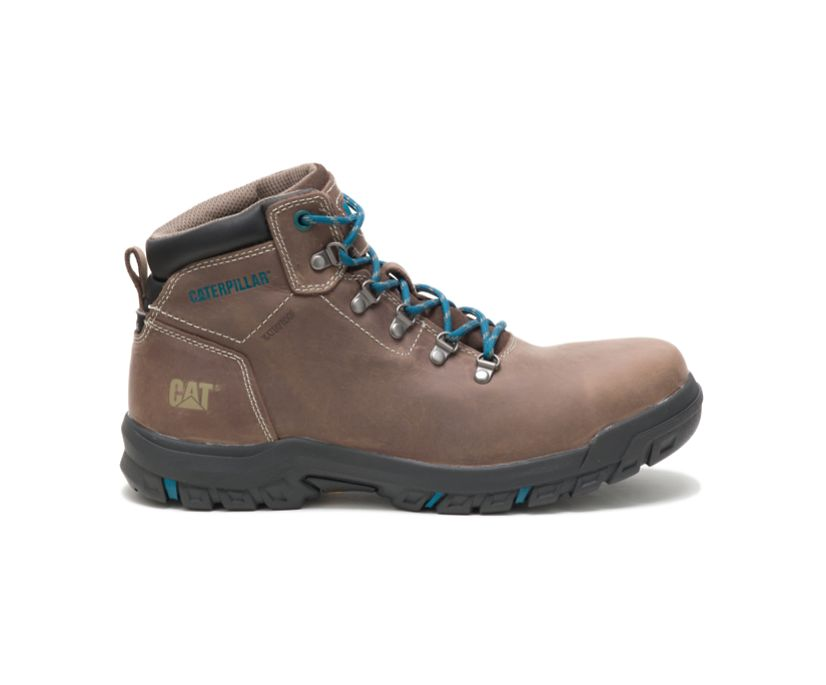 Mae Steel Toe Waterproof Work Boot, Bay Leaf, dynamic