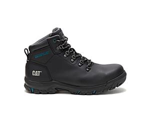 Mae Steel Toe Waterproof Work Boot, Black, dynamic