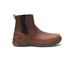 Abbey Steel Toe Work Boot, Butterscotch, dynamic