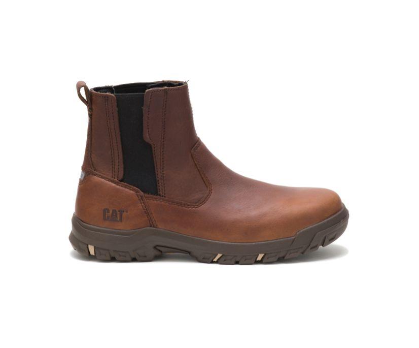 Abbey Steel Toe Work Boot, Butterscotch, dynamic