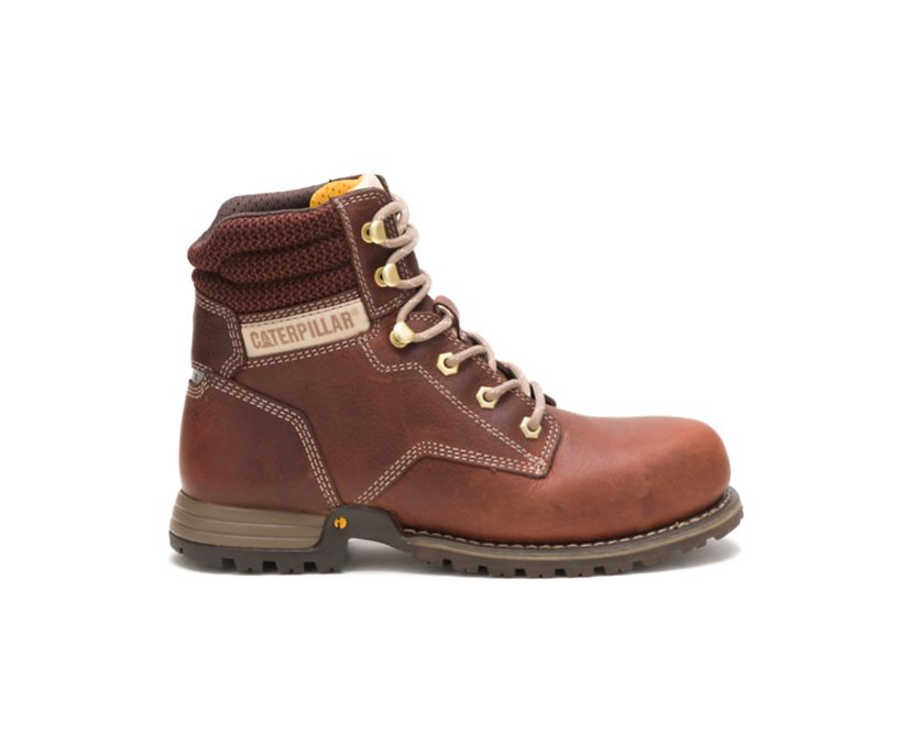 "Paisley 6"" Steel Toe Work Boot, Tawny, dynamic"