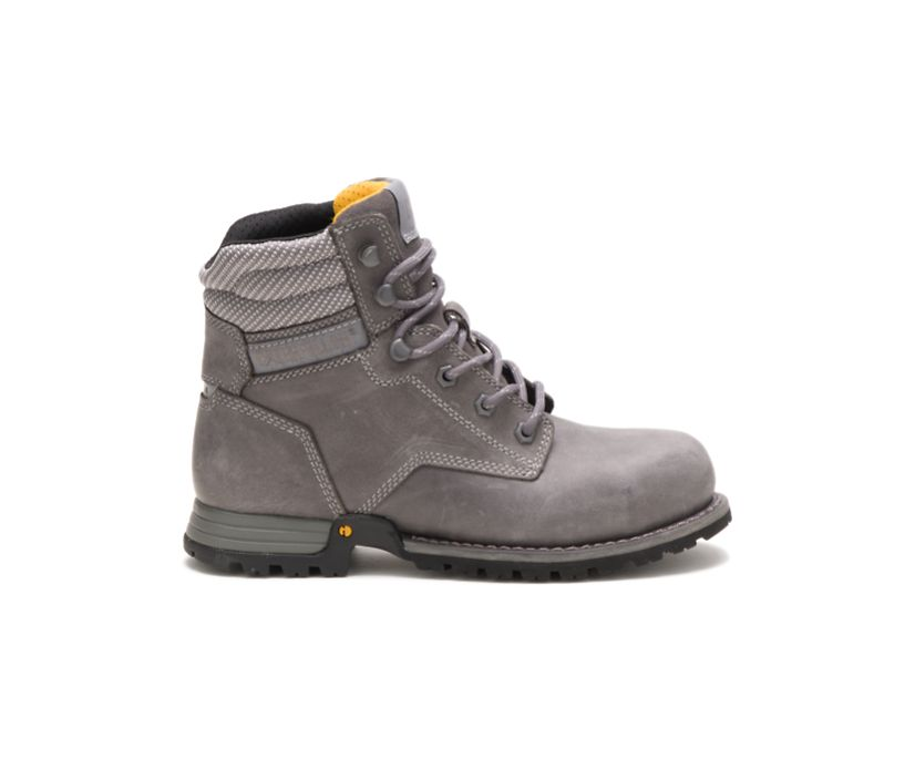 """Paisley 6"""" Steel Toe Work Boot, Dolphin, dynamic"""