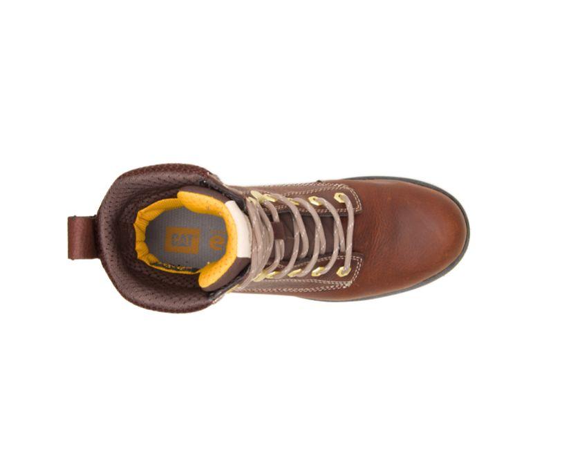 "Clover 8"" Steel Toe Work Boot, Tawny, dynamic"