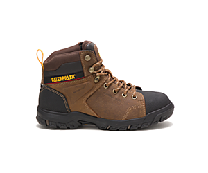 Wellspring Waterproof Metatarsal Guard Steel Toe Work Boot, Real Brown, dynamic