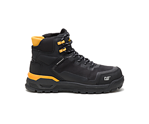 Propulsion Waterproof Composite Toe Work Boot, Black, dynamic