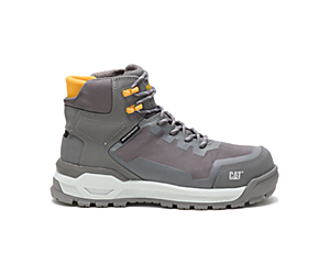 Propulsion Waterproof Composite Toe Work Boot, Medium Charcoal, dynamic