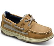 Lanyard Boat Shoe, Tan, dynamic