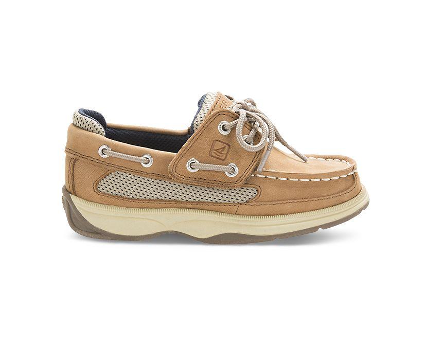 Lanyard Boat Shoe, Dark Tan, dynamic