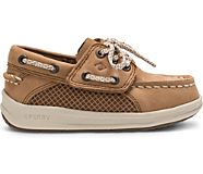 Gamefish Junior Boat Shoe, Dark Tan, dynamic