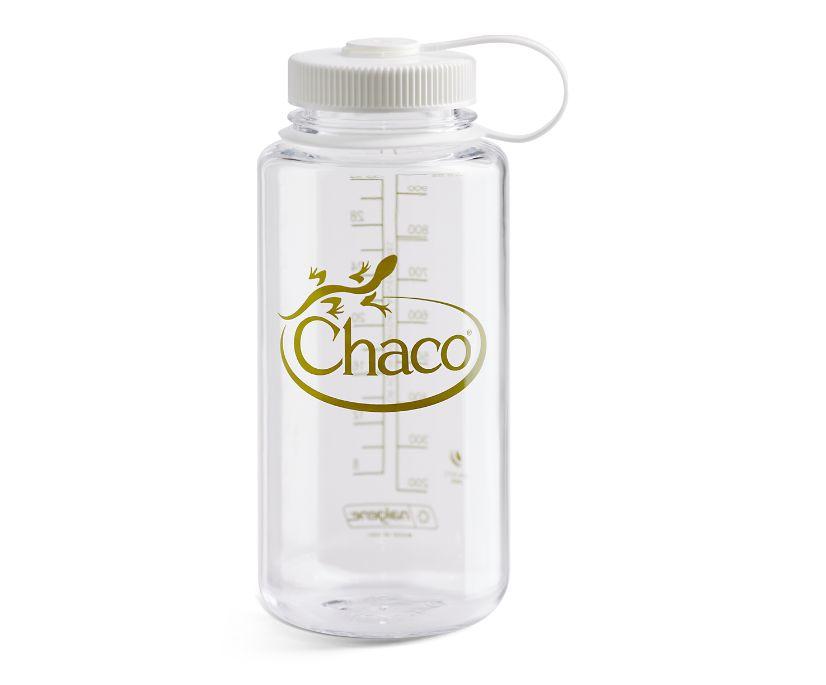 Nalgene 32oz Tritan Water Bottle, Clear, dynamic
