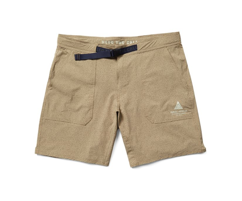 Chaco X Howler Tamarin Tech Shorts, Deep Khaki, dynamic